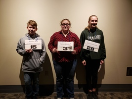 SGMS Spellers Advance to Conference Bee