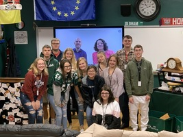 SGHS Topics & Research in History Class Meets U.S. Diplomats