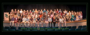 National Junior Honors Society Induction