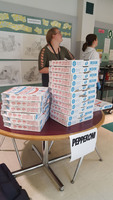 FCCLA Sponsors Pizza & Kona Ice Fundraiser for Faculty Member in Need