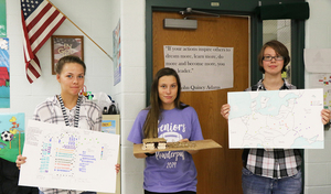 German IV Students Teach Peers About Holocaust