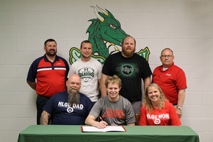 Ste. Genevieve High School Senior Joshua Schmidt  Signs with Hannibal-LaGrange University