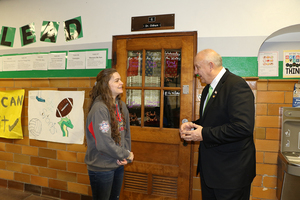 Rep. Dale Wright Visits Ste. Genevieve Middle School