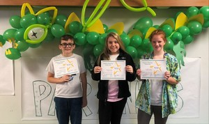 SGMS Announces Student of the Month