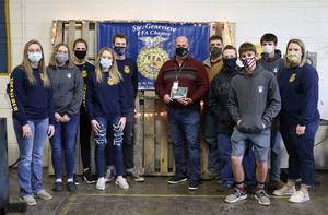 Ste. Genevieve FFA Chapter Recognizes  Principal Chris Hoehne As Honorary Member