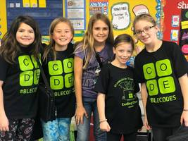Bloomsdale Elementary Participates in Second Annual Hour of Code