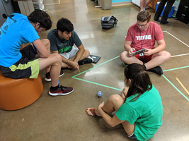 SGHS Students Use Spheros to Focus on Instructions & Collaboration