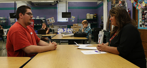 Students Gain Skills Through Mock Job Interviews