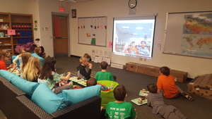 Bloomsdale Elementary Fourth Grade Students Participate in Book Talk
