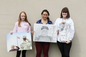 SGHS Students Recognized with Young American Creative Patriotic Art Awards