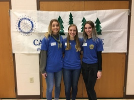 SGHS & Valle Catholic High School Students Attend Rotary Camp Enterprise