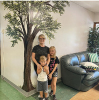 Ste. Genevieve Elementary Lobby Shares New Tree Mural