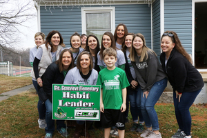 Ste. Genevieve Elementary Celebrates Second Quarter Habit Leaders with Surprise Visits