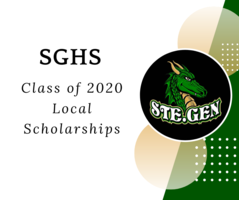 SGHS Class of 2020 Local Scholarships