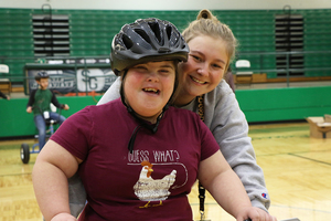 Adaptive Physical Education Class Receives Tricycles Through Donations