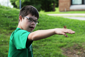 Students Release Butterflies After Studying Life Cycles