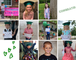 Bloomsdale Elementary Preschool Celebrates  Preschool Class of 2020 Graduation