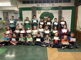 Ste. Genevieve Elementary Students Make March Student of the Month
