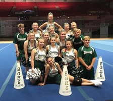SGHS Cheer Brings Home Awards from Cheerleaders Camp at SEMO,  Earns Bid to Nationals