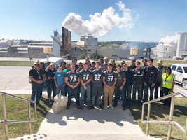 SGHS Students Tour Mississippi Lime Co. on Manufacturing Day
