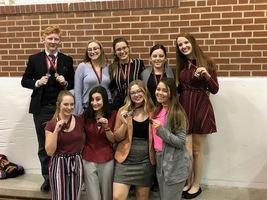SGHS Speech & Debate Takes Home Wins from  Jackson High School Invitational
