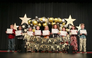 Ste. Genevieve Elementary Hosts Habit Leader Ceremony