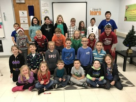 Ste. Genevieve Elementary Recognizes December Student of the Month