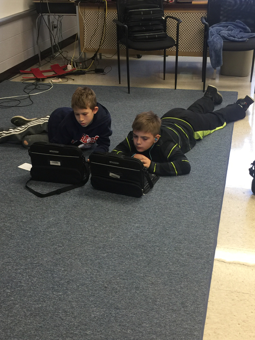 Intense coding going on!