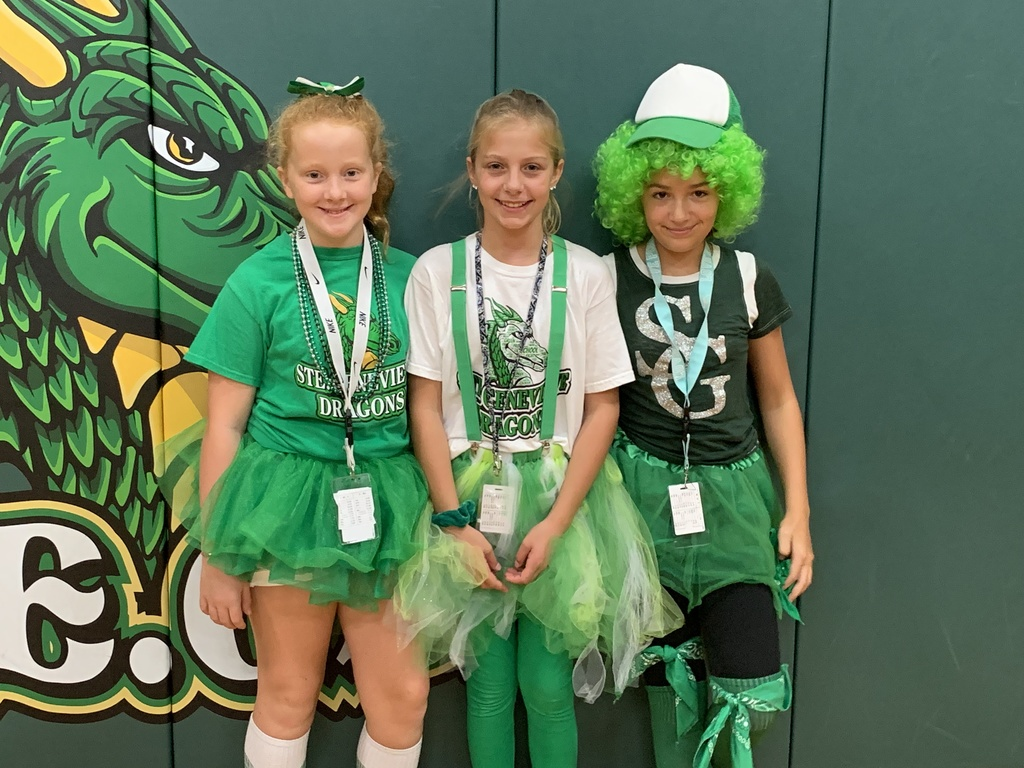 6th Graders are Green!