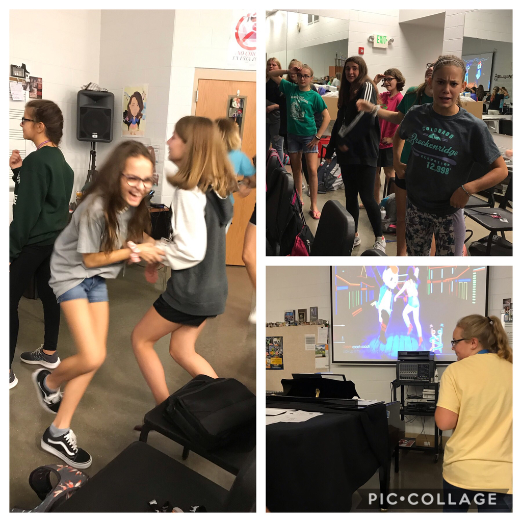 This is what we do on Fridays in advanced choir is just dance #sgmsfamily #loyalandtrue #sgms excellent