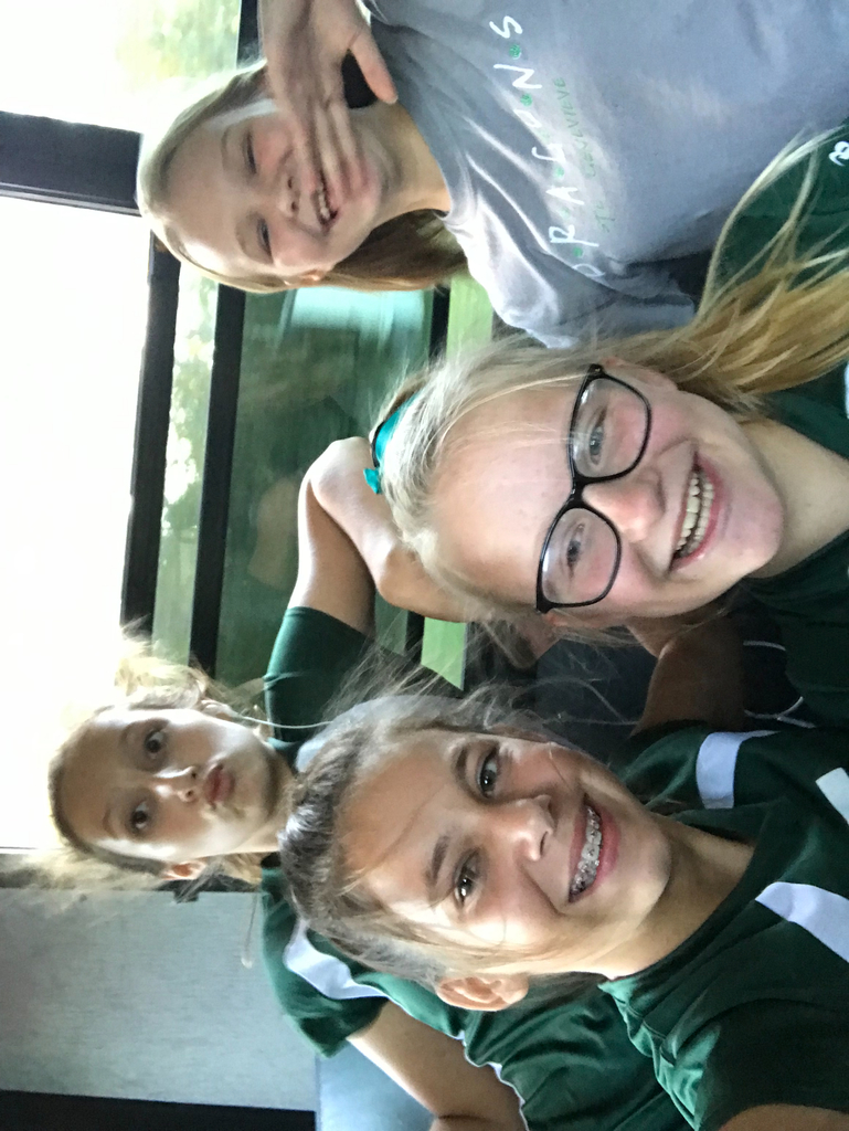 Having fun on the volleyball bus to Arcadia Valley. #studentvoice